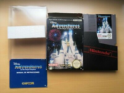 Nintendo NES Disney Adventures in the Magic Kingdom ESP CIB