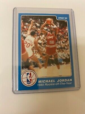 Michael Jordan 1985 STAR ROY #288 RC! HOF! The Last Dance! Perfect! $!