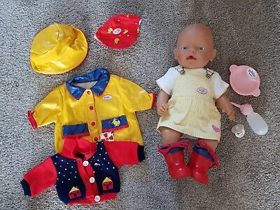 Baby Born Interactive Doll Girl with accessories
