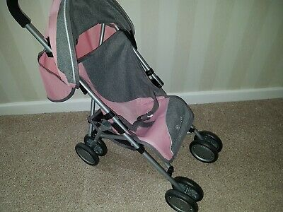 Silver Cross 1371040 Pop Dolls Pushchair - Vintage Pink excellent condition
