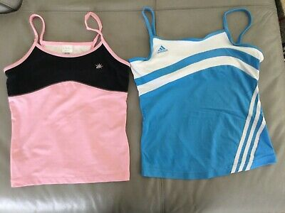 Womens Tennis Tank Top's Adidas and So Sporty (M)