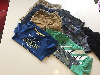 Guess Diesel Ted Baker Next Baby Gap Boys Shorts And T Shirts Age 3-4
