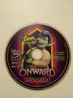 Onward DVD (Disc Only) No Case 2020 Pixar Movie. NO DIGITAL