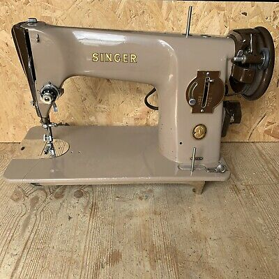 Vintage 1956 Semi-Industrial Singer 201K Electric Sewing Machine - Spare