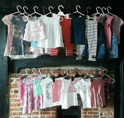 Girls Clothes Bundle Age 2-3 Years Summer Outfits mix & match H&M Next