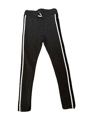 H&M Kids Size 9-10 Tracksuit Bottoms Black/Dark Grey trousers NWT LAST CHANCE!