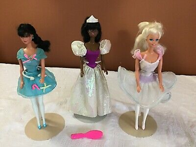 Mattel Barbie Miko & Christie 'My First'Dolls & Clothing vintage 1980s Lot Of 3