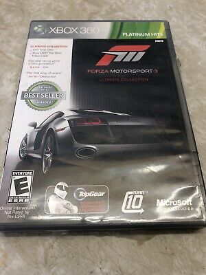 Forza Motorsport 3 -- Ultimate Collection (Microsoft Xbox 360, 2010)  Free Shipp