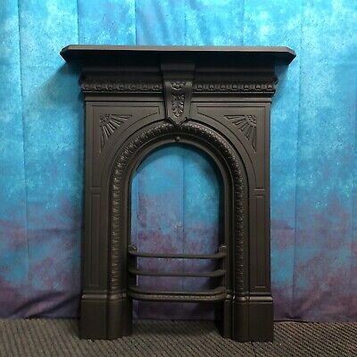 fireplace Victorian Cast-iron  fire surround  DELIVERY ONLY £35Uk