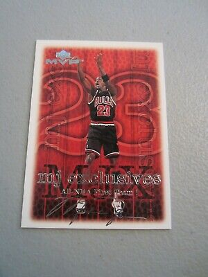 1999-00 Upper Deck MVP MJ Exclusives Silver Script #199 MICHAEL JORDAN