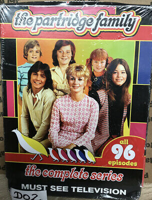 The Partridge Family - The Complete Series All 96 Episodes Sealed