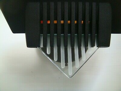 Post Modern Black And Glass Art Deco Style Sconce