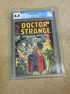 Dr Strange 169 CGC 8.0 with Rare White Pages (Classic Cover!!)