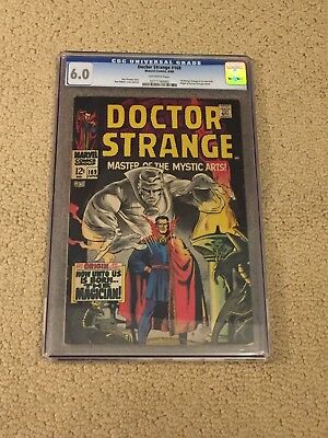 Dr Strange 169 CGC 6.0 OW Pages (Classic Cover!!)