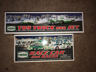 Hess 2009 Race Car And Racer 2010 Toy Truck And Jet
