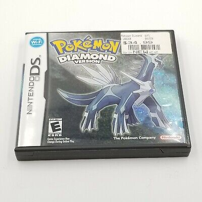 Pokemon Diamond Version Nintendo DS Case And Booklet Only No Game