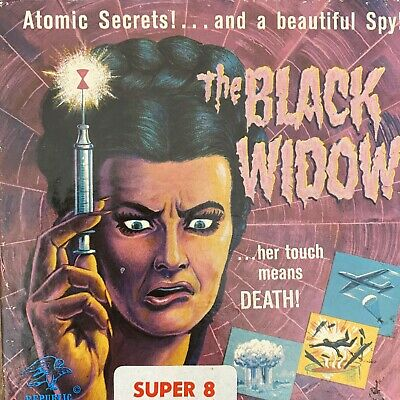 The Black Widow Super 8 Movie Film In Good Vintage Condition.