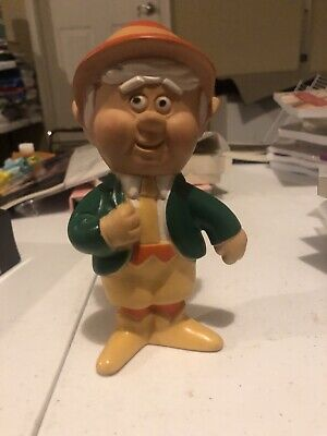 Vintage Character Advertising Rubber Toy-Keebler Elf Rubber Doll 1974  Ernie Htf