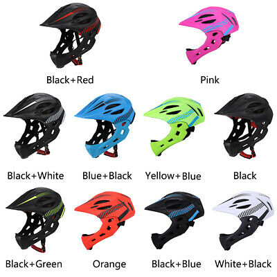 Kids Safety Full Face Helmet for Bike Scooter Bicycle Skate Board Cycle UK