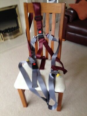 Seat belt with Unwin fittings. Used but very little wear