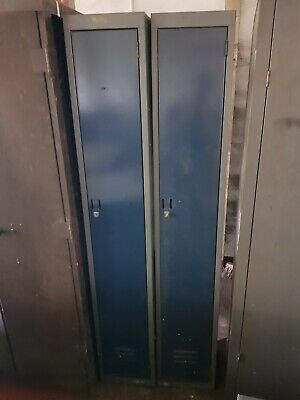 2x metal freestanding locker used condition