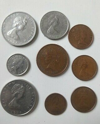 🇮🇲 Isle of Man joblot coin 1976 Half Penny1 new Penny 5-2 pence Qty 9  🇮🇲