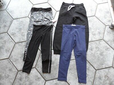 Girls Age 7/8 2Pr Shosho Leggings Bn 1 Jogging Bottoms 1  M&S Leggings Outgrown