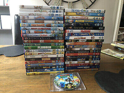 Job Lot Disney Pixar Children's Dvd's