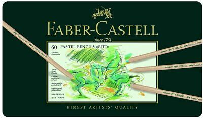 Faber-Castell - Tin of 60 PITT PASTEL Pencils  **BRAND NEW FACTORY SEALED**