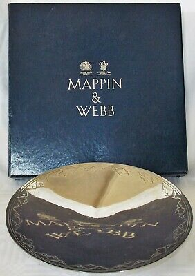 Mappin & Webb Princes Silver Plate Footed Serving Plate Stand     (Free Postage)
