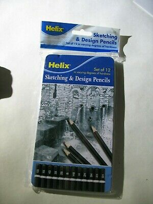 Office Works set of 12 Graded Pencils new in sealed tin