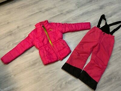Girls winter ski jackets and trousers size 7/8 11/12