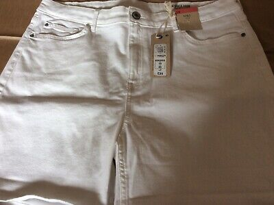 marks and spencer 20 Ladies Shorts New With Tags 1white 1black =2 Pairs