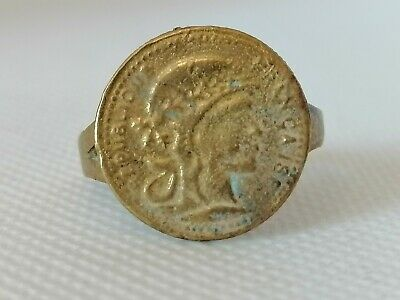 Rare Extremely Ancient Ring Bronze Roman Ring Authentic Beautiful Artifact