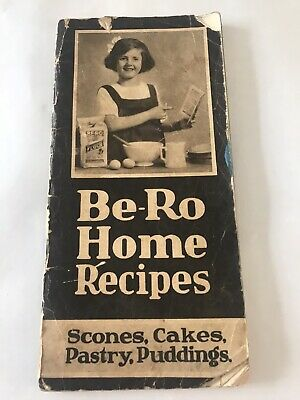 Early Genuine Vintage Be-Ro Recipe Book Fifth Million 6th Edition