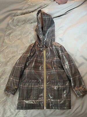 Girls River Island Checked Jacket Age 3-4