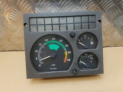 IVECO DAILY rev counter fuel temp gauge dials instrument 1996 1997 1998 1999 2.8