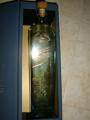 -Limited Edition Design - Empty Johnnie Walker Blue Label bottle