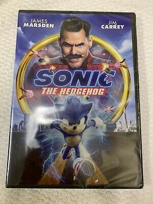 Brand New Sonic The Hedgehog DVD 2020