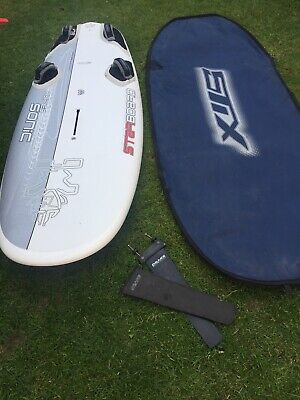 Starboard Hyper Sonic - 105L with Drake Race 440 fin and free board bag