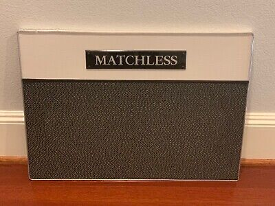 Matchless Amplifier Speaker Grill Front For Two 10 Inch Speakers - Very Nice!