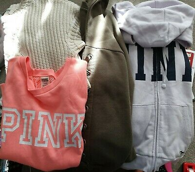 Girls/Ladies Clothing Top Bundle Size Med/Approx Size 12 - PINK/H&M/GAP