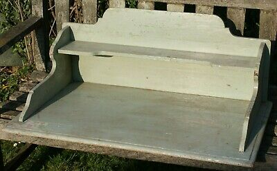 A Victorian/Edwardian Painted Pine Washstand/Desk Top