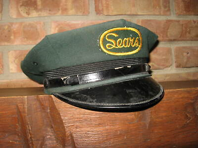 RARE Vintage SEARS Drivers Hat Advertising