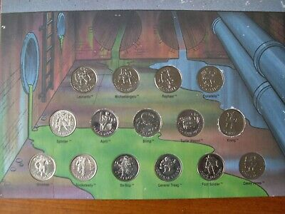 Teenage mutant hero turtles 1990 (30 Year old) Coin Collection
