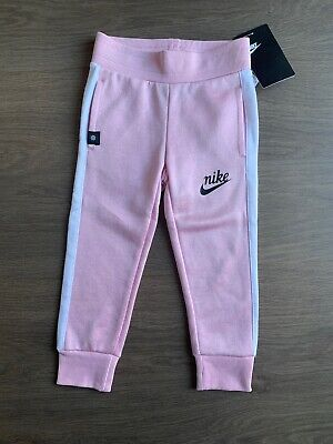 New Nike Girls Pink Tracksuit Trousers Size 2-3 Years