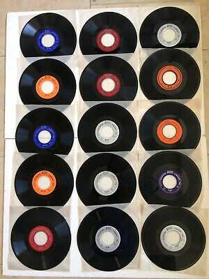15 Seeburg Basic Industrial And Mood Background Music Records Bms 1000 162/3 Rpm