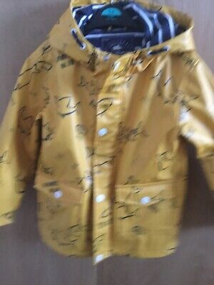 boys Age 5-6 George Yellow raincoat
