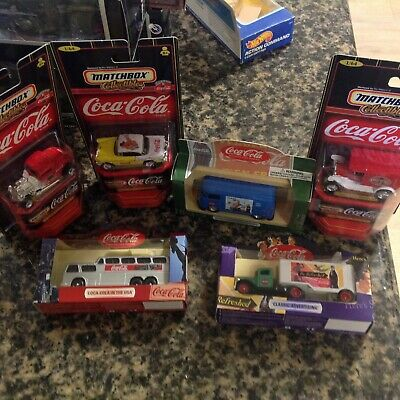 Coca-Cola  Die-Cast  Vehicle Collectibles   Lot Of 6  New In Box