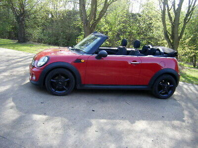 2011 MINI 1.6 LCI CABRIOLET CONVERTIBLE FBMWSH  COOPER alloys 2 owners damaged